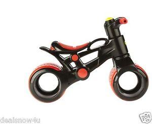 Black Individually Packaged Balance Bike Children Bicycle
