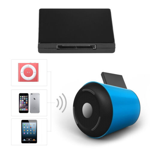 Bluetooth 2.0 30pin wireless A2DP Music Audio Receiver Adapter for iPod iPhone