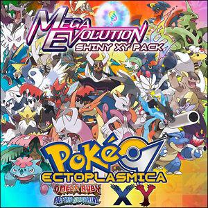 Shiny xy mega evolutions pack 6iv megaevoluciones - Pokemon xy mega evolution chart ...
