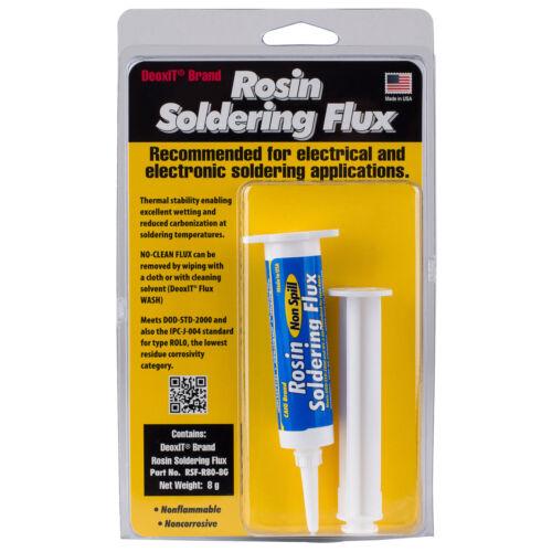 CAIG RSF-R80-8G DeoxIT Rosin Soldering Flux Syringe 8g