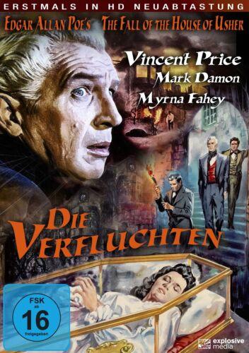 1 von 1 - Die Verfluchten - The Fall of House Usher (Vincent Price) DVD NEU+OVP!