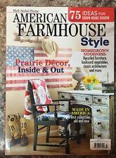 American Farmhouse Style Idea Prairie Decor Upcycle Summer 2016 FREE SHIPPING