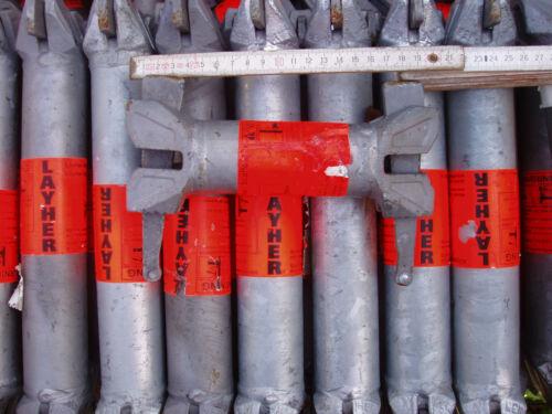 O-Riegel 0,25m original Layher Allround Nr 2601.025 gebraucht Top Zustand