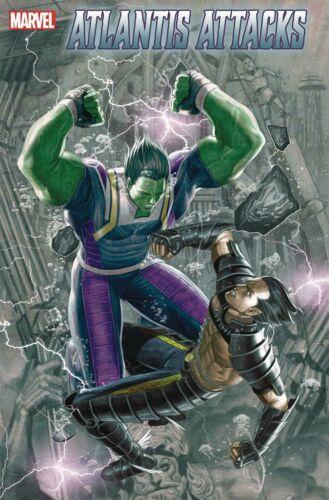 Atlantis Attacks #3 Of 5 First Print Kim Cover 2020 Marvel Comics