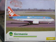 GERMANIA - Herpa Wings Boeing 737-700 LIMITED EDITION 1:400 NEU / MINT!