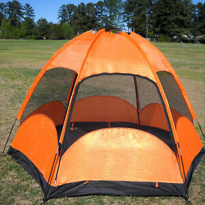 Image is loading CLEARANCE-SALE-2-Person-Double-Layers-C&ing-Hiking- & CLEARANCE SALE 2 Person Double Layers Camping Hiking Family Tent w ...