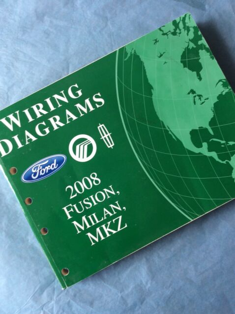 2008 Ford Fusion Milan Mkz Evtm Wiring Diagrams Manual