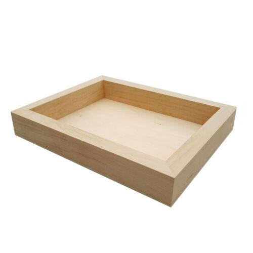 Wood  Tray Tea Coffee Snack Food Serving Tray Retail Display Trays Platform