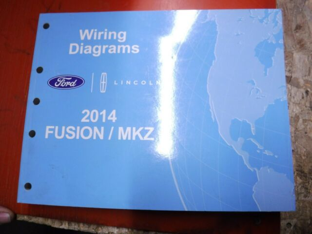2014 Lincoln Mkz Ford Fusion Original Factory Wiring