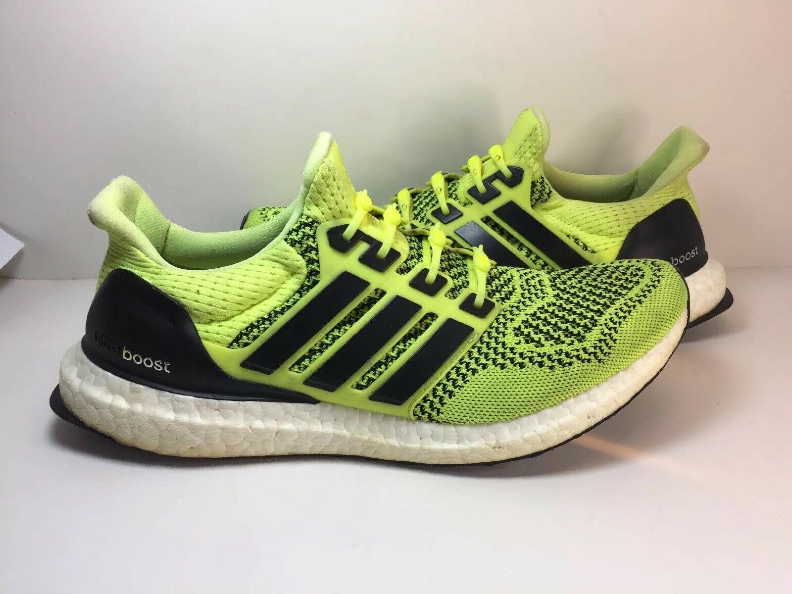 Adidas Ultra Boost 1.0 Volt Solar Yellow Men Size 9
