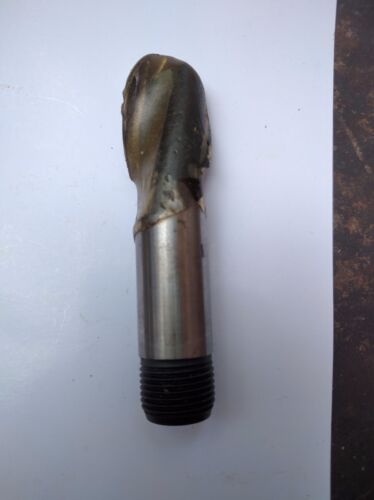 "1//2/"" coHSS cnc mill ballnose ball nose 1//2/"" threaded Shank Trubor end mill"