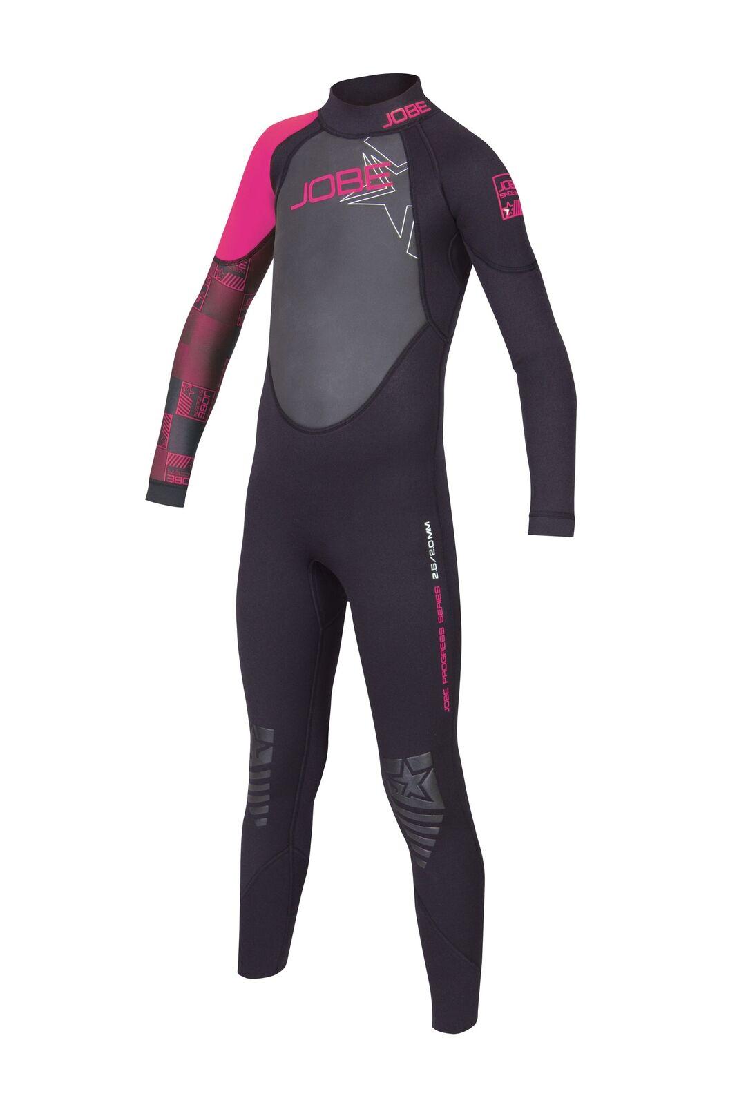 Jobe progress full Suit Youth 3.0 2.5 rosadodo niños neopreno traje talla XXS (98 104)