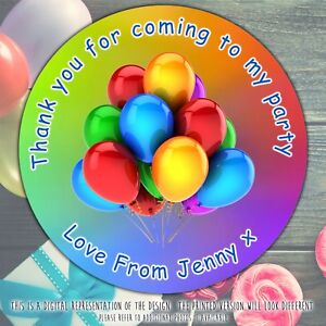 Personalised-Balloons-Birthday-Party-round-stickers-labels-party-cone-sheet