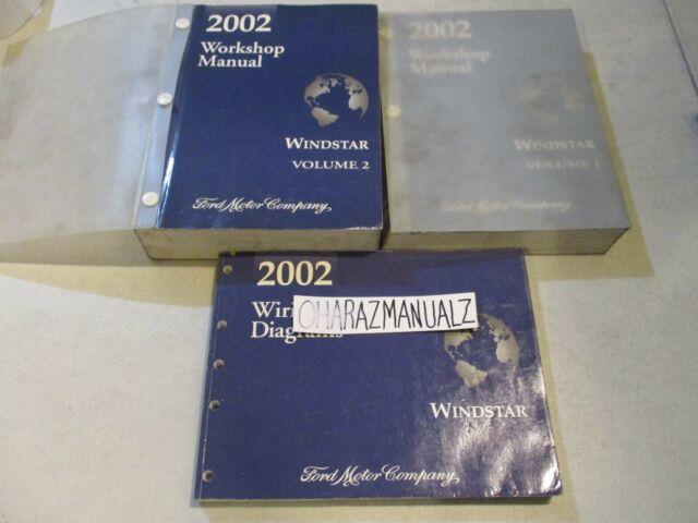 2002 Ford Windstar Wiring Diagrams  U0026 Service Manuals