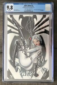 RARE-WHITE-WIDOW-1-ABSOLUTE-TYNDALL-VIRGIN-FOIL-EXCLUSIVE-LE-30-CGC-9-8