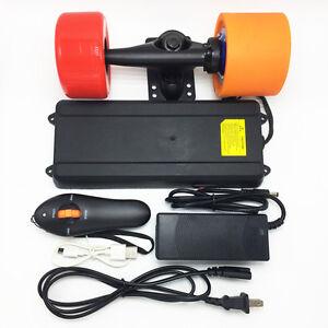 DIY Electric Skateboard Hub Motor Battery Kit Motor 1800 rpm Truck Wheels 83x52  eBay