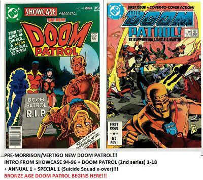 Doom Patrol 1 18 Showcase Ann Spec Dc Intro New Team