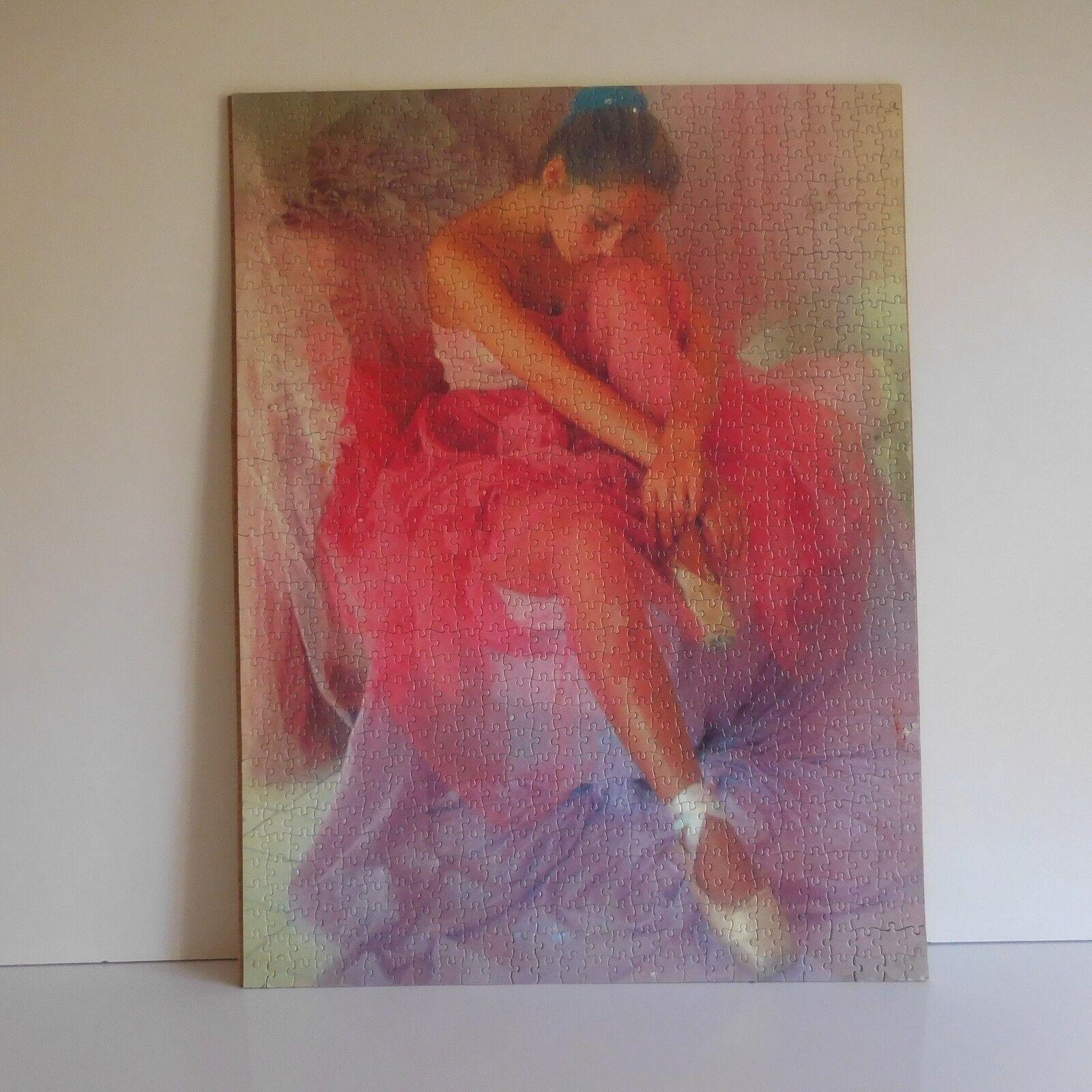Puzzle Bailarina Mano IN 1968 Mirecourt Barbilla Art Decoración Xx Pn Francia