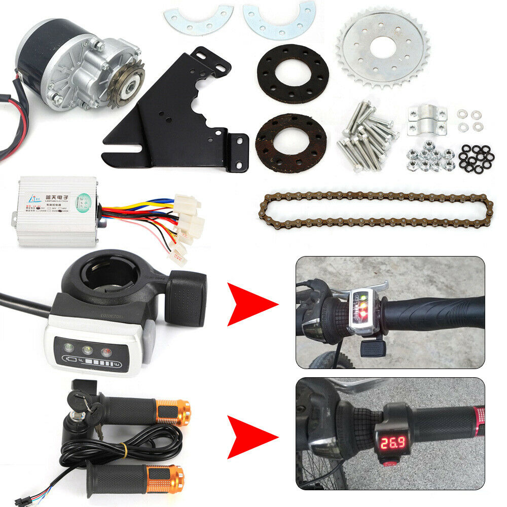 450W 36V Electric Bike Left Drive  Conversion Kit Motor Conversion f Common Bike  new exclusive high-end