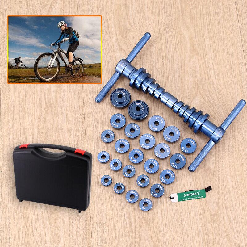 25PCS Outil d'insGrößetion de moyeu de pédalier de vélo et d'axe de roulement BB