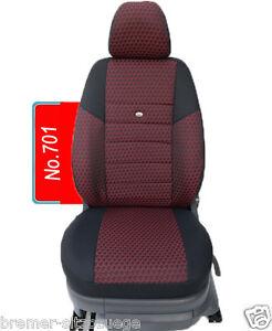 Schwarze Sitzbezüge für SEAT IBIZA Autositzbezug VORNE NUR FAHRERSITZ