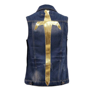 ready player one parzival denim vest cosplay costume jacket wade
