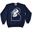 Biggie-Smalls-Crewneck-Sweatshirt-To-Match-Retro-Jordan-11-Midnight-Navy-UNC thumbnail 1