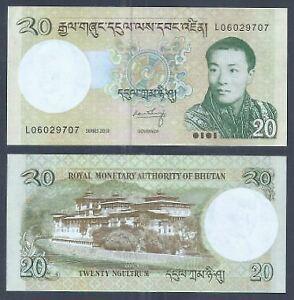 Bhutan-2013-20-Ngultrum-UNC-2013-20-L06029707