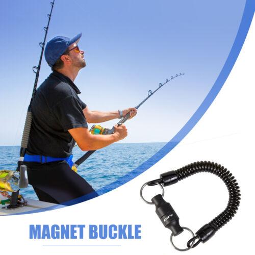 # Qzo Fliegenfischen Magnetisch Netz Freigabe Kescher Halter Torwart mit Band