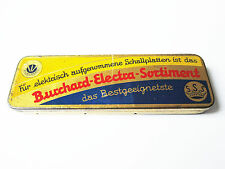 Grammophon NADELDOSE BURCHARD ELECTRA SORTIMENT gramophone needle tin