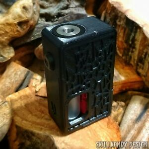 Details about VENOM X 2 0 20700 ABS V2 Full Mech SS Squonk Mod Box Custom  Onyx Black