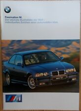 Prospekt BMW M - 3er E36 M3 und Z3 M Roadster/Coupe  2/98 CH