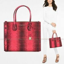 955020cf20fc item 2 NWT💕 Michael Kors Mercer Embossed Leather Large Convertible Tote Bag  Ultra Pink -NWT💕 Michael Kors Mercer Embossed Leather Large Convertible  Tote ...