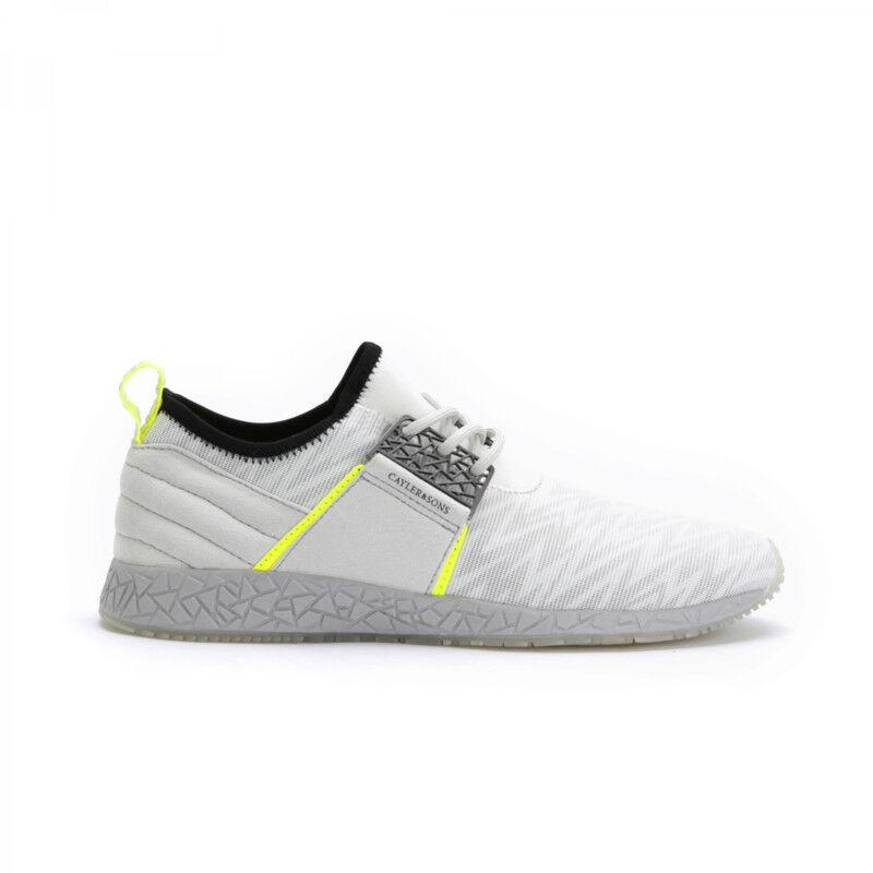 Los zapatos más populares para hombres y mujeres Cayler & Sons zapatos Katsuro señores Talla EU 46 White/Yellow/estampadas