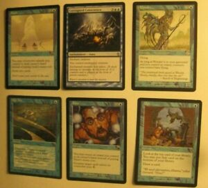 Mono-Blue-Good-Stuff-Control-EDH-Commander-Lot-LP-HP-Draw-Counter-Gain-Infect