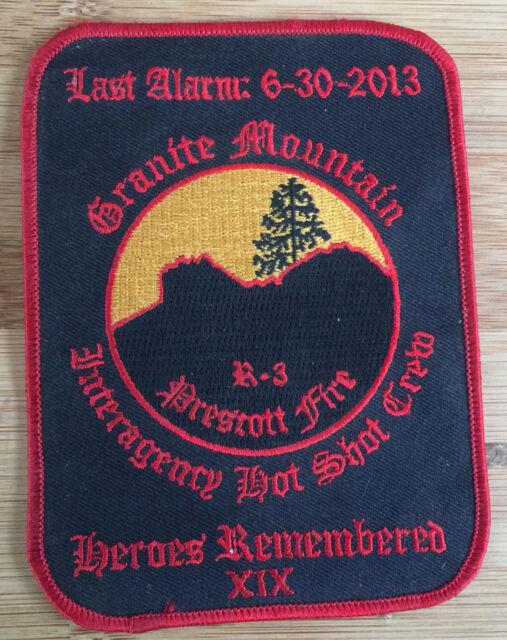 Granite Mountain Hot Shots-EOW 6/30/13 Commemorative + V *Kokopelli Patch*