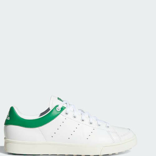 Adidas D97784 Women Classic Adicross Golf shoes white green sneakers