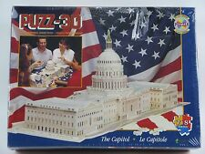Puzz 3D U.S. Capitol Building Puzzle NEW 718 ps Washington DC 3D Wrebbit 1995