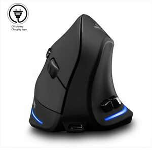 Vertical-Mouse-Wireless-Veeki-Right-Handed-2-4GHz-Wireless-Ergonomic-Recharg