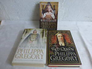 Philippa-Gregory-Book-Bundle-The-White-Queen-The-Red-Queen-The-White-Princess