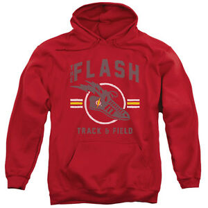 The Flash TRACK /& FIELD Team Licensed Adult T-Shirt All Sizes