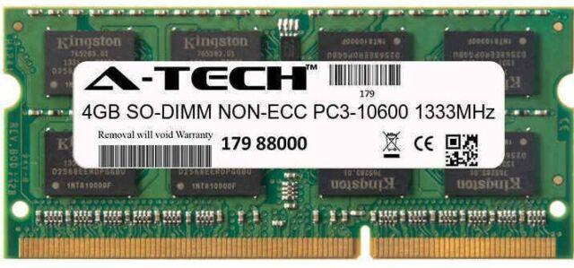 4GB SODIMM Dell Inspiron 15R 5521 15R 7520 15R N5010 15R N5110 15z Ram Memory