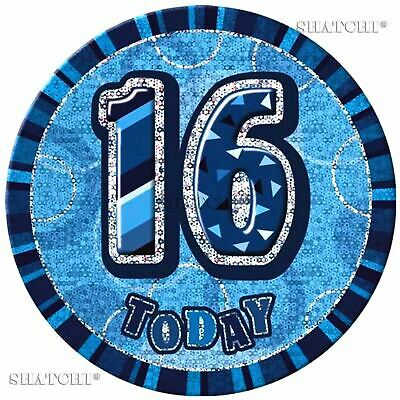2 Packs Glitz Bleu 40th Fête D/'Anniversaire Décoration Confettis Foil Paillette