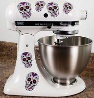 Sugar Skull Dios De Los Muertos Kitchenaid Mixer Mixing Machine Decal Art Wrap