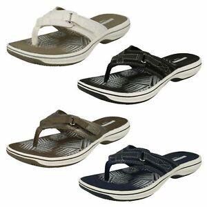Clarks 'Brinkley Sea' Slip On Ladies Sandals