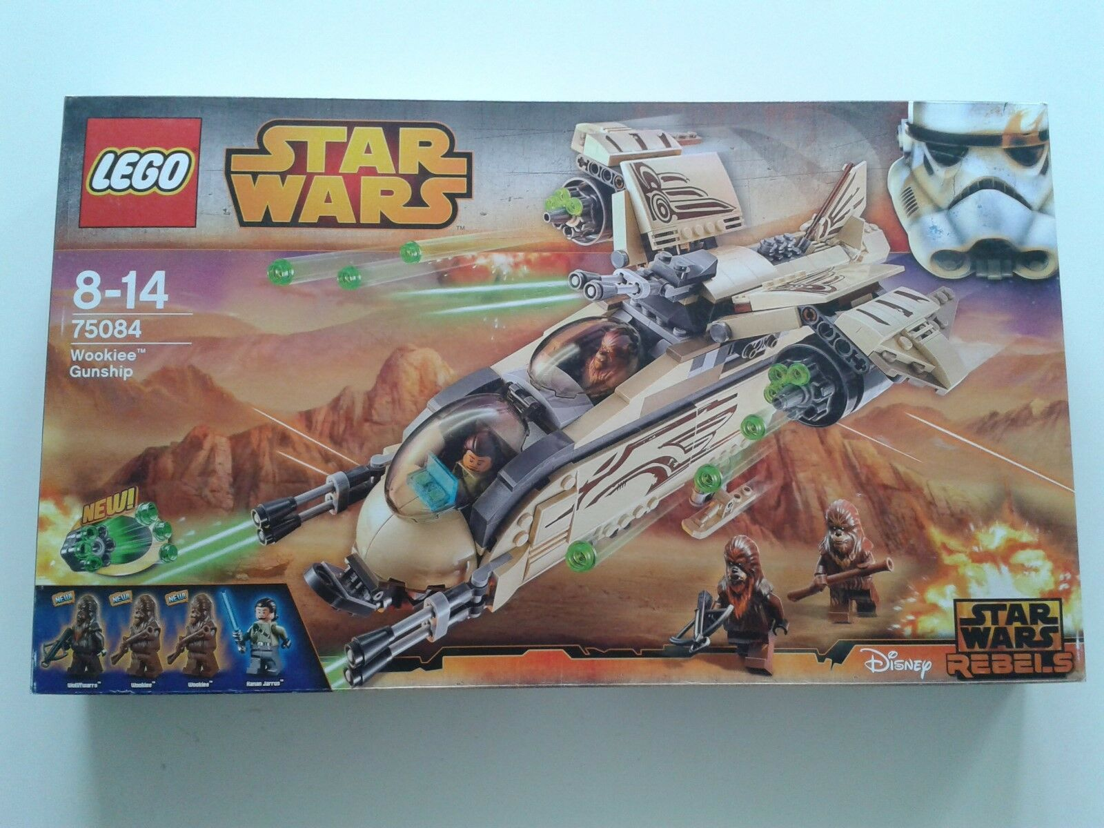 LEGO StarWars Wookiee Gunship (75084) aus Sammlungsauflösung