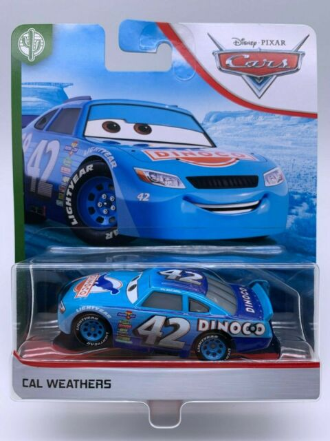 "Disney Pixar Cars Diecast Cal Weathers Copper Canyon Speedway ""VHTF"""