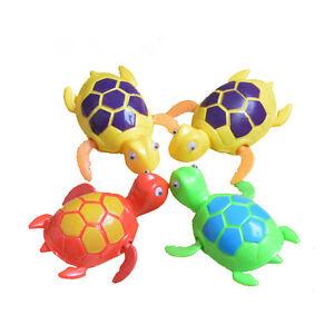 Bathroom-Tub-Bathing-Toy-Clockwork-Wind-UP-Plastic-Bath-Animal-Pool-For-Baby-H-amp-T