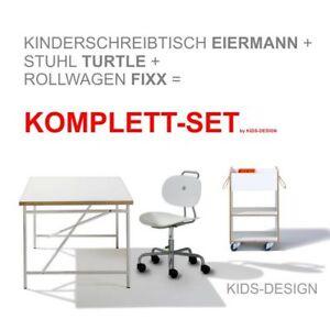 Pezzo-di-rilascio-scrivania-bambini-uova-Uomo-150-x-75-cm-Sedia-Bianco-contenitore
