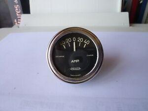 Ancien-Compteur-JAEGER-Jauge-Controleur-Batterie-voltmetre-amperemetre